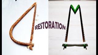 RESTORATION  OLD HAND SAW