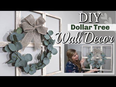 DIY Dollar Tree Wall Decor | DIY Farmhouse Decor | Krafts by Katelyn
