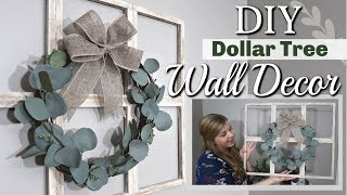 DIY Dollar Tree Wall Decor | DIY Farmhouse Decor | Krafts by Katelyn