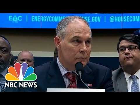 EPA Chief Scott Pruitt Resigns | NBC News