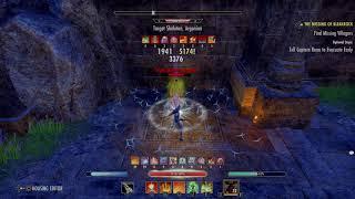The Elder Scrolls Online: Tamriel Unlimited Stamdk Dps Test 39.6k