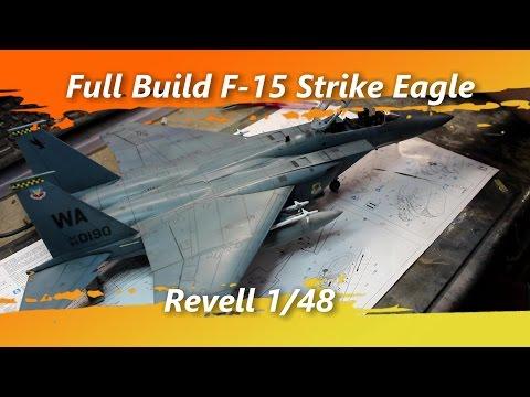 Full Build F 15 Strike Eagle 1/48 Revell