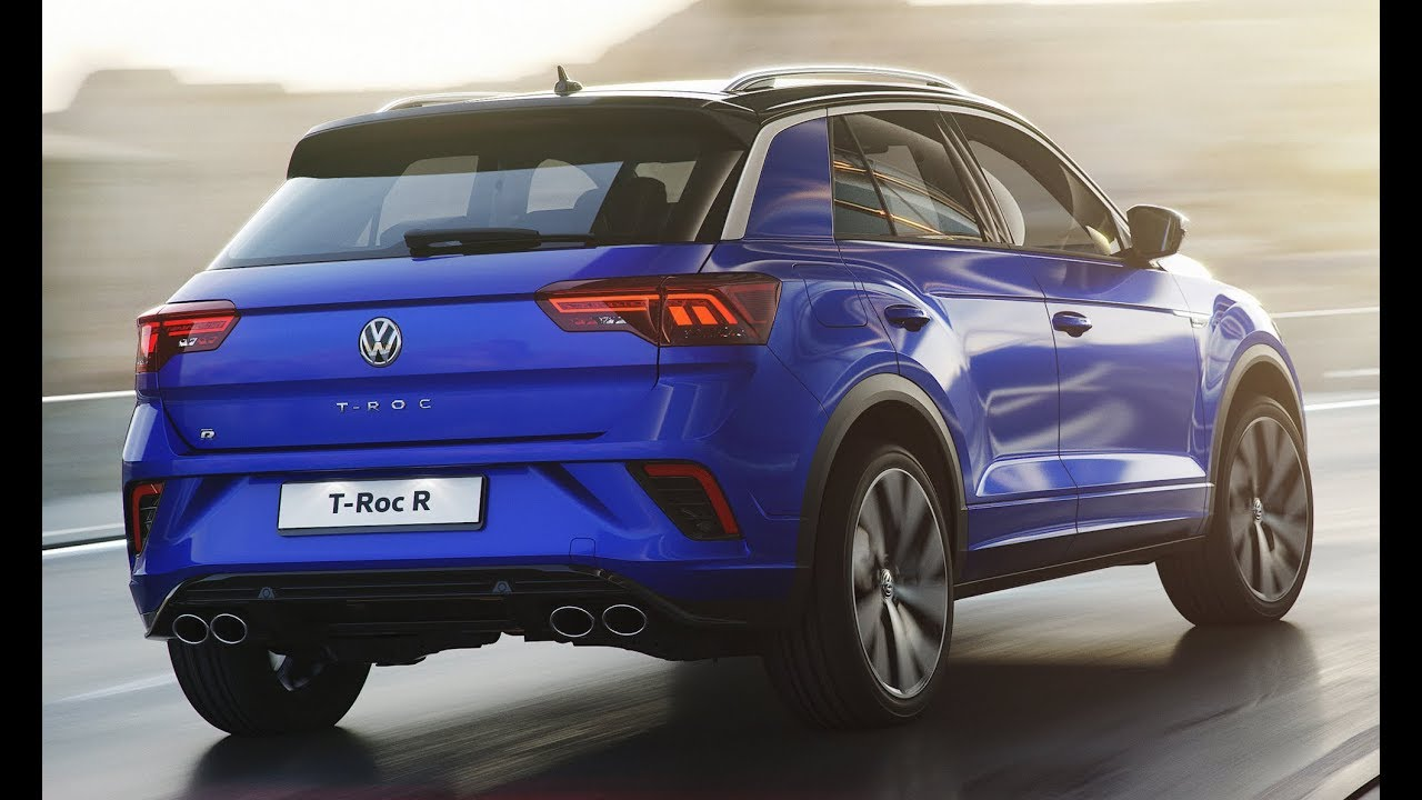 2019 Volkswagen T Roc R Interior And Exterior First Look Youtube