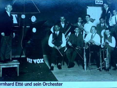 Bernard Etté u.s. Orchester; My Dancing Lady (1934).