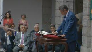 Revilla jura el cargo como presidente de Cantabria