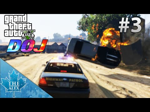 GTA V Department of Justice #3 - Encounter with a Hitman - L.E.O.