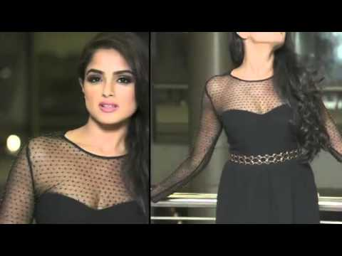 56e255d4400 Asmita Sood New Hottest Stills in Black Dress - YouTube