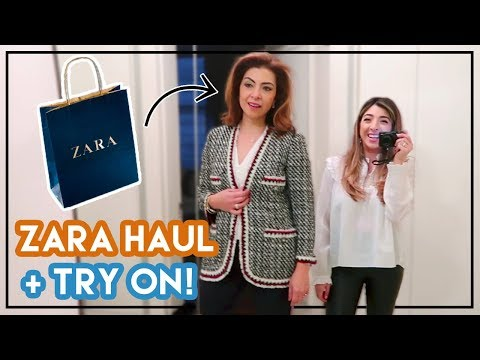 Shopping with My Mum! Zara Haul & Try on | Amelia Liana