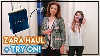 Shopping with My Mum! Zara Haul & Try on   Amelia Liana