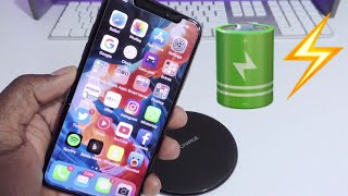 iPhone X Fast Wireless Charging Speed Test