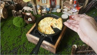 #Food video  🍕🥚 How to make pizza from eggs 🍕🥚 Tiny Cooking   Hobby Cook #5