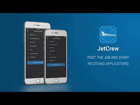 JetCrew for Private Jet Operators