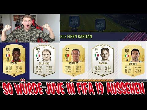 So könnte JUVE in FIFA 19 aussehen, ohne verkaufte Spieler & mit ICONS! - Fifa 18 Ultimate Team