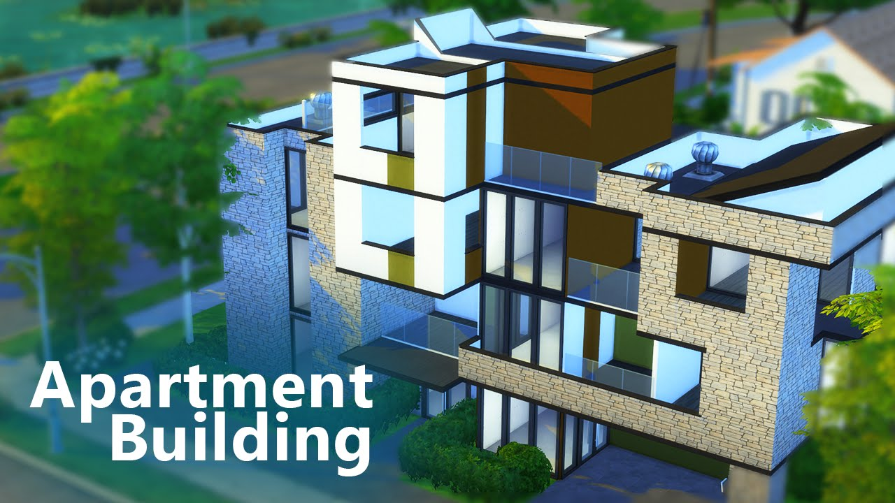 Let S Build Apartments The Sims 4