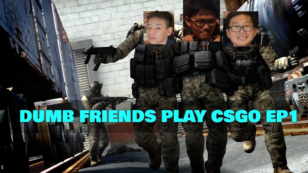 how to play cs go with bots and friends