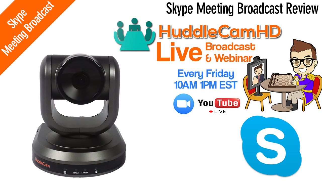 eda6a620e3c Skype Meeting Broadcast - The professional YouTube Live