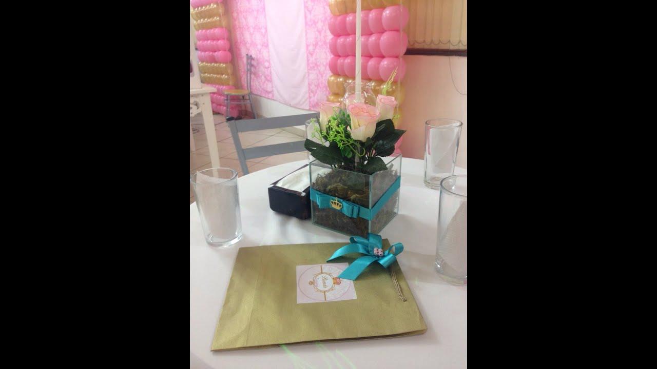 Faça voc u00ea mesmo enfeite de mesa para casamento, aniversário etc YouTube -> Enfeites De Mesa Para Casamento Com Suculentas
