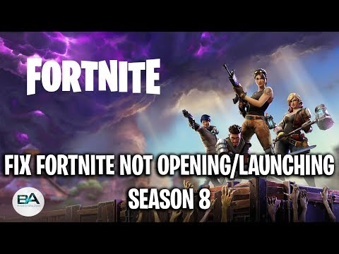 FIX FORTNITE NOT OPENING With Epic Games Launcher [ Season 11 ] ! | Fortnite Not Launching FIX