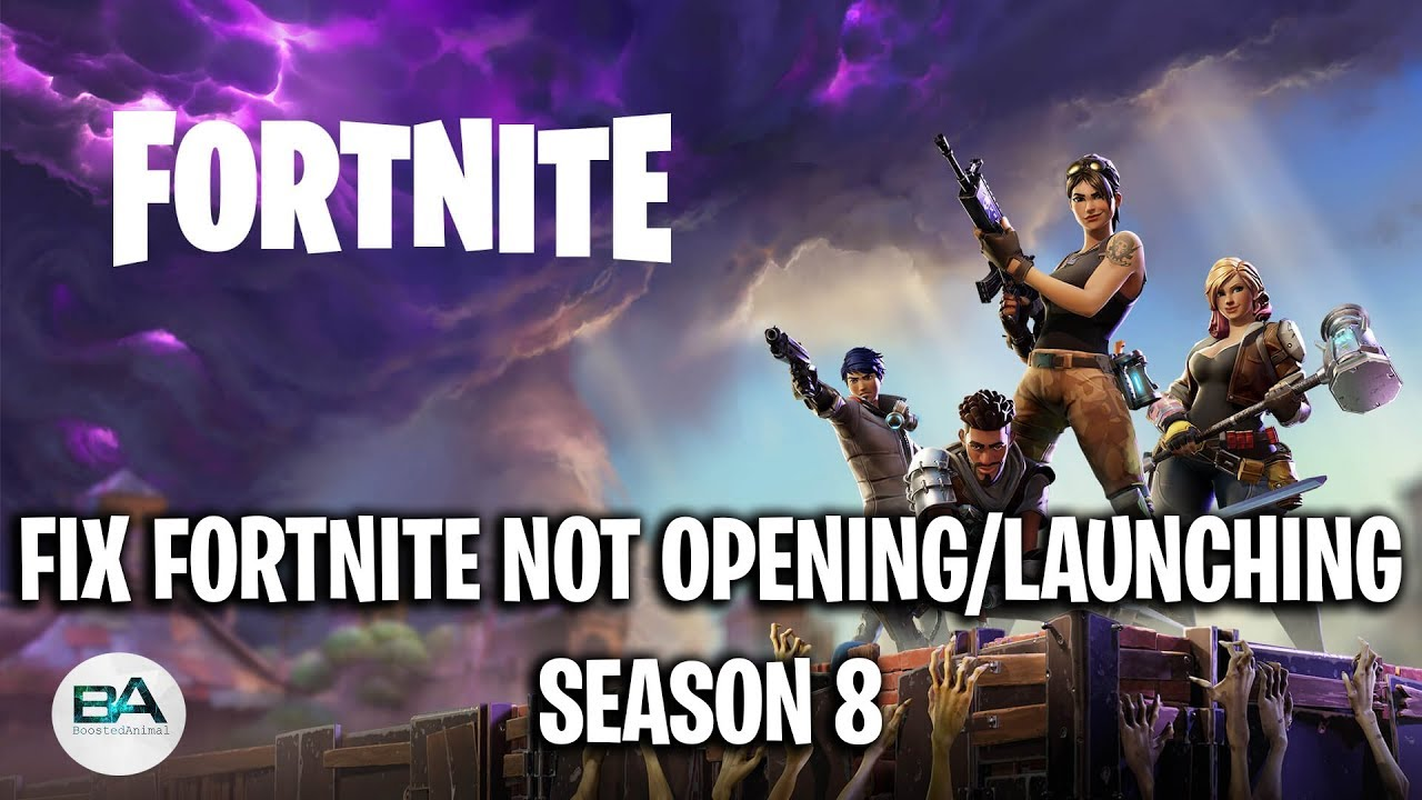 FIX FORTNITE NOT OPENING with Epic Games Launcher [ Season ...