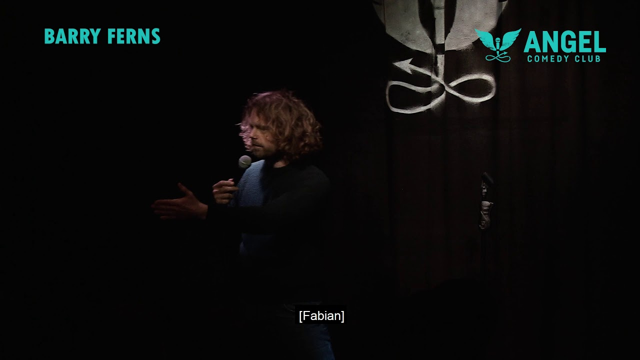 Barry Ferns - Stand-Up Taster Video 2