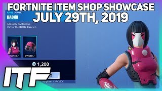 Fortnite Item Shop *NEW* BACHII SKIN! [July 29th, 2019] (Fortnite Battle Royale)