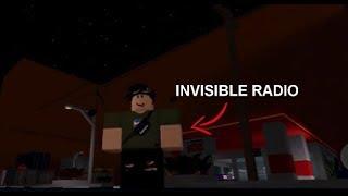 Roblox - The Street New Invisible Boombox Glitch