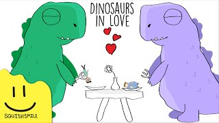 Dinosaurs in Love - Animated Music Video