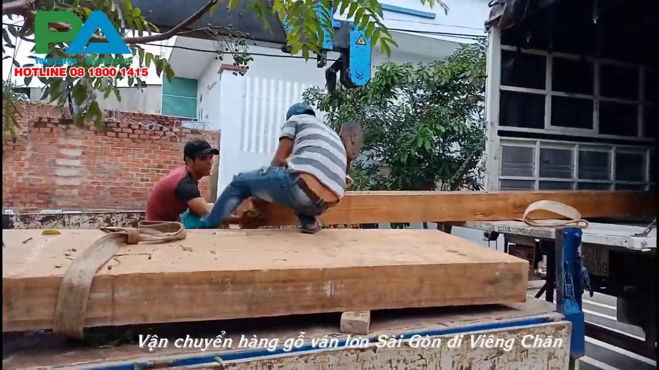 Vận chuyển hàng từ Sài Gòn đi Viêng Chăn | Vận chuyển hàng đi Lào giá rẻ | Hotline  08 1800 1415