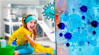 Ястася и грандиозная уборка в детской комнате
