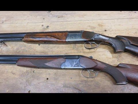 Ружья ИЖ-12; ИЖ-27 сравнение, отличие.