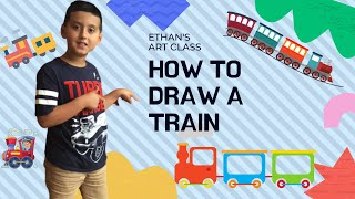 How to draw the best train 🚂