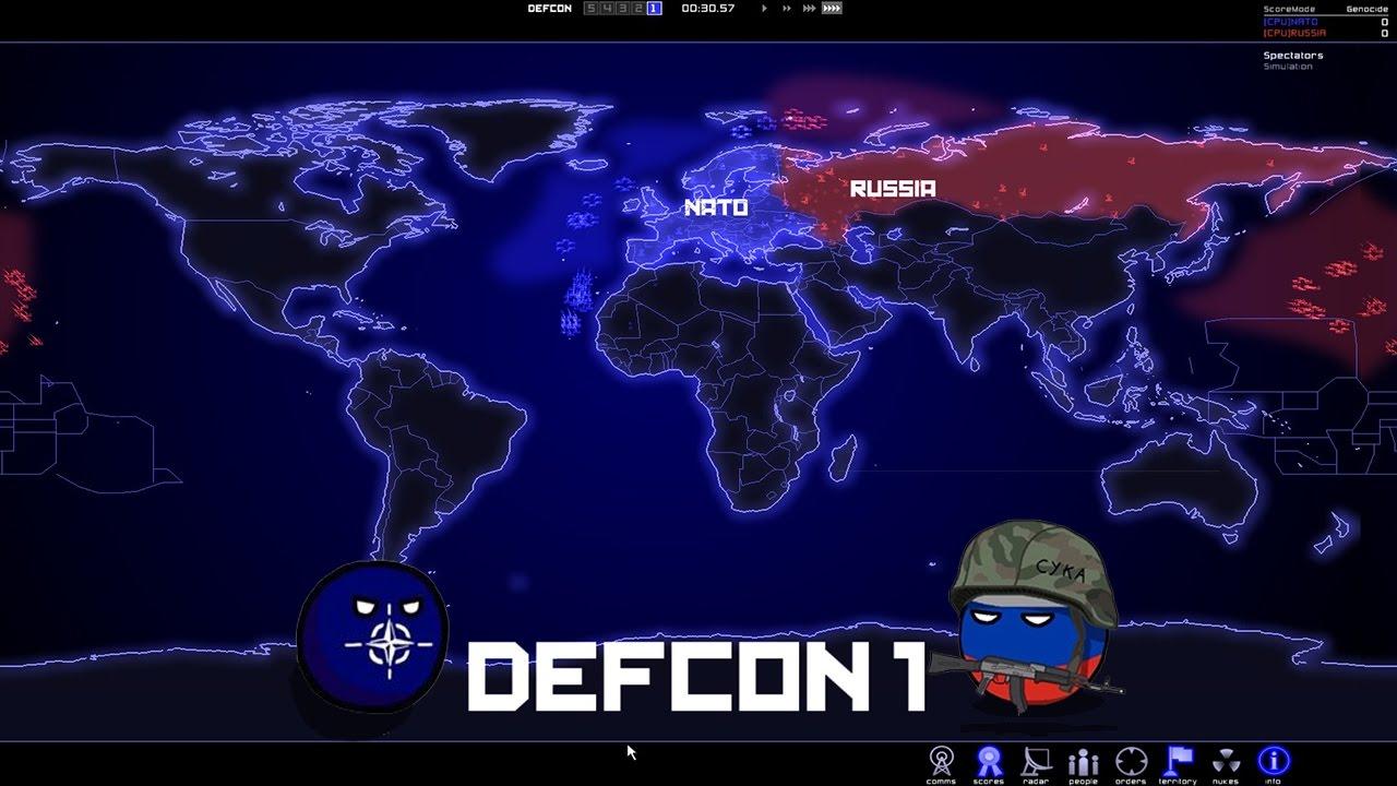 Defcon everybody dies
