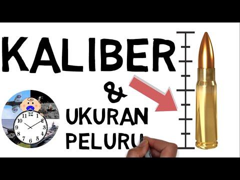 Jenis Kaliber Dan Ukuran Peluru - Seri Cara Kerja Peluru 3