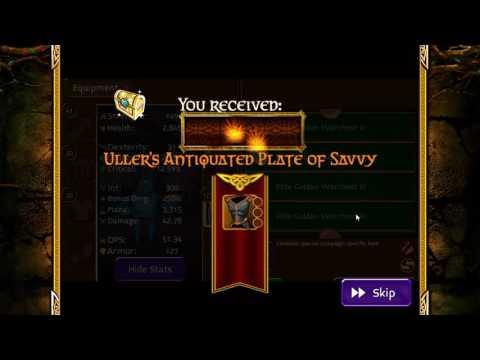 Arcane Legends Opening Elite Chests