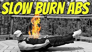 10 Minute Intense Abs (SLOW BURN ABS WORKOUT) Sean Vigue Fitness