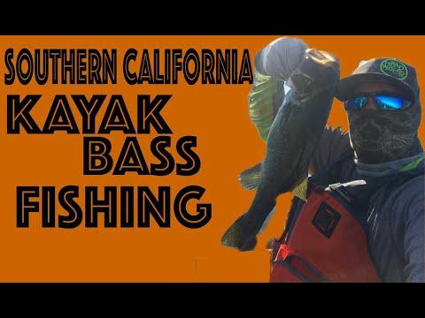 Lake PERRIS / Santa Fe DAM Kayak Bass FISHING