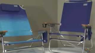 Rio Beach Bum And Big Kahuna Beach Chairs - Product Review Video