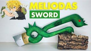 Make the DRAGON SWORD of MELIODAS in WOOD – Seven Deadly Sins