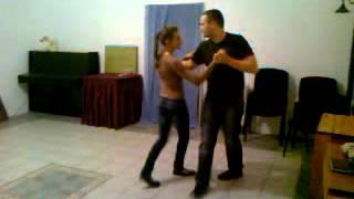 Марина и Виталик. Репетиция свадебного танца.