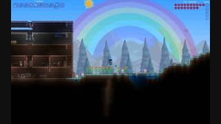 Terraria 1.1 - Ice Rod, pretty awesome weapon
