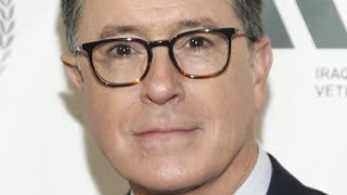 The Tragic Life Of Stephen Colbert