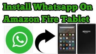 Install WhatsApp🌍 On Amazon Fire Tablet📲 || New Trick || Must Watch🔥🔥🔥