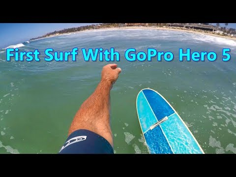 GoPro Hero 5 & Surfing Cardiff Beach Break
