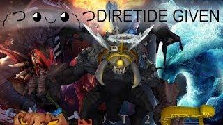 [Dota 2] ༼ つ ◕◡◕  ༽つDIRETIDE GIVEN - Фиксер играет в Восстание Тьмы