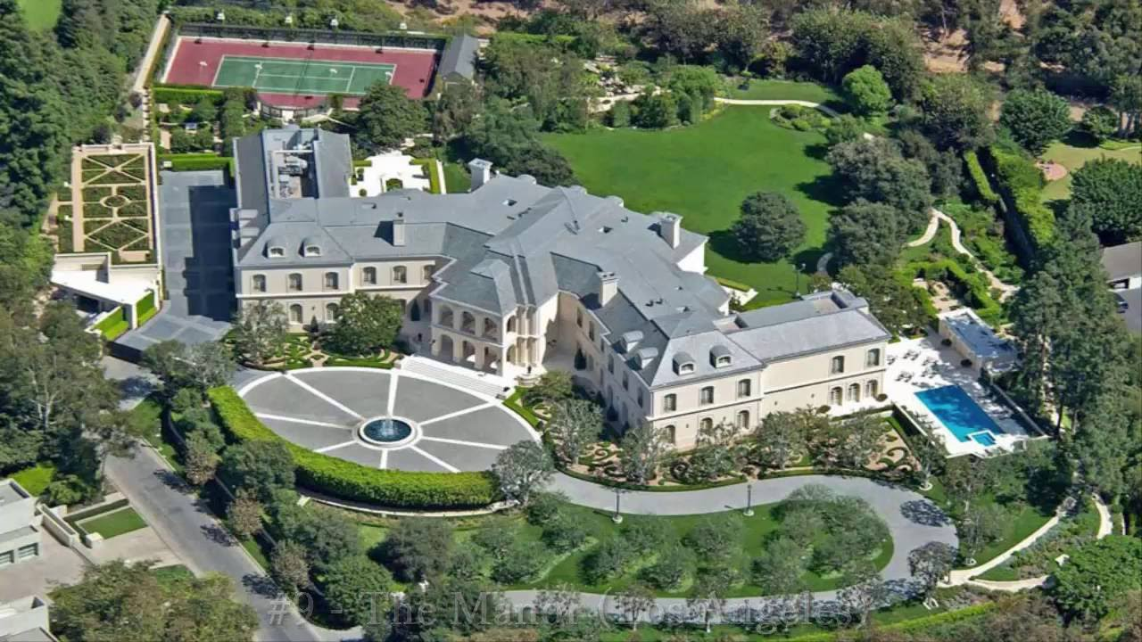 Most Expensive Celebrity Homes in the World - Top Ten