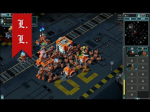 8-Bit Invaders - gameplay - Marines campaign walkthrough - 4 mission - Alien Swarm