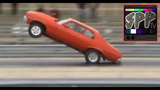 NITROUS STREETCAR 74 NOVA - Race and Cruise footage of Robs car