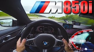0-260km/h | 2019 BMW M850i | POV- TOP SPEED and Acceleration TEST ✔
