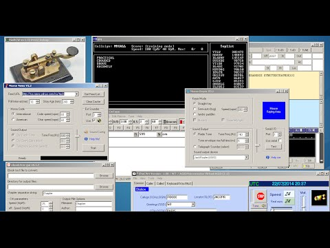 Morse Code Software - overview of some great CW apps - 2014