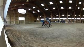 entraînement du spin avec Fred Roux